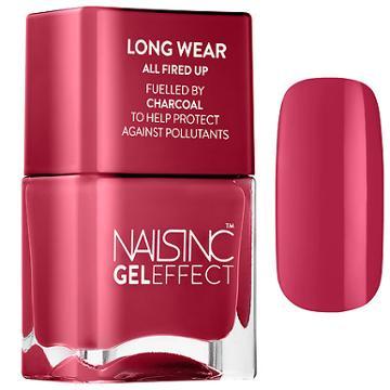 Nails Inc. Nail Polish Fuelled By Charcoal Nobel Street 0.47 Oz