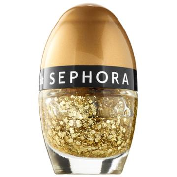 Sephora Collection Color Hit Mini Nail Polish Gold Fever 0.16 Oz/ 5 Ml