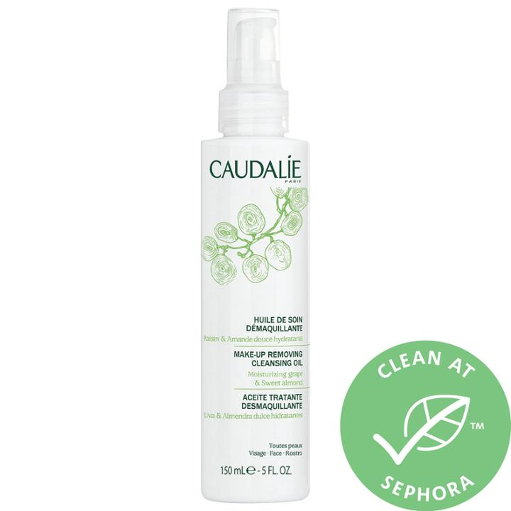 Caudalie Make-up Removing Cleansing Oil 5.0 Oz/ 150 Ml