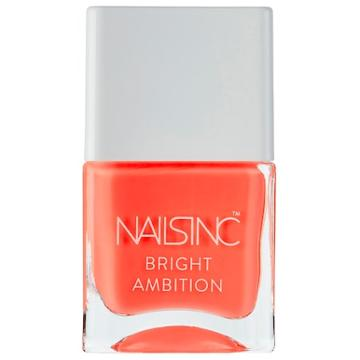 Nails Inc. Bright Ambition Nail Polish Collection Strictly Bikini 0.47 Oz/ 14 Ml