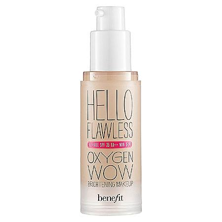 Benefit Cosmetics 'hello Flawless!' Oxygen Wow Liquid Foundation 'i'm Plush And Precious' Petal 1 Oz