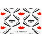 Sephora Collection Lips Gift Card $100