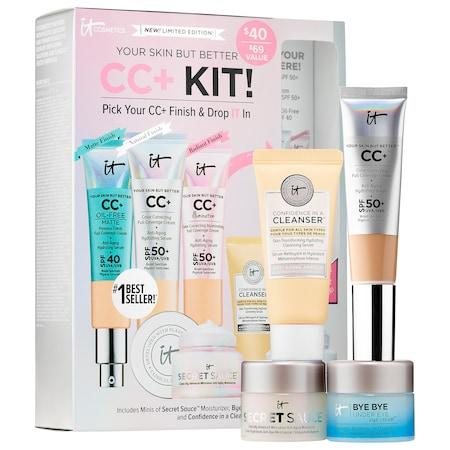 It Cosmetics Your Skin But Better Cc+ Kit! Pick Your Cc+ & Drop It In