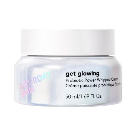 Saturday Skin Get Glowing Probiotic Power Whipped Cream 1.69 Oz/ 50 Ml