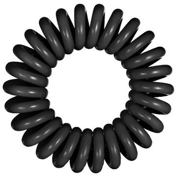 Invisibobbble The Traceless Hair Ring True Black 3 Traceless Hair Rings