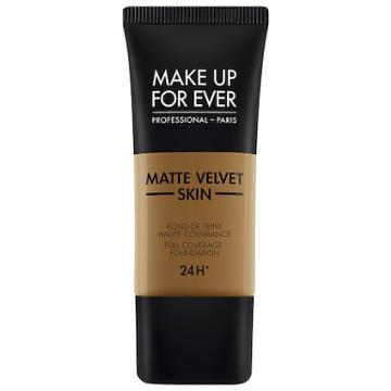 Make Up For Ever Matte Velvet Skin Full Coverage Foundation Y523 - Golden Brown 1.01 Oz/ 30 Ml