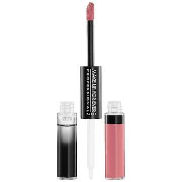 Make Up For Ever Aqua Rouge Liquid Lipstick 15 Pink 2 X 0.08 Oz