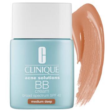 Clinique Acne Solutions™ Bb Cream Spf 40 Medium Deep 1 Oz