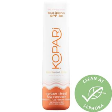 Kopari Sundaze Mineral Face Sunscreen Spf 30 1.7 Oz/ 50 Ml