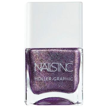 Nails Inc. Holler-graphic Nail Polish Collection Get Out Of My Space