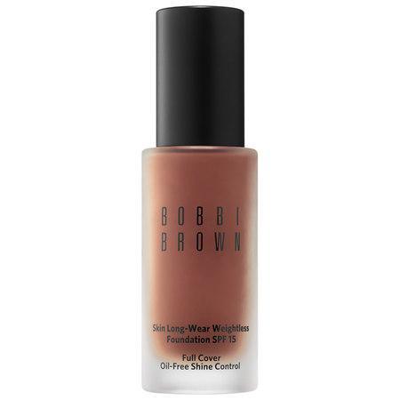 Bobbi Brown Skin Long-wear Weightless Foundation Spf 15 Cool Walnut 8.25 1 Oz/ 30 Ml