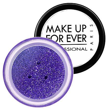 Make Up For Ever Glitters Purple 9