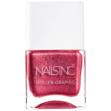 Nails Inc. Holler-graphic Nail Polish Collection Molten My Day