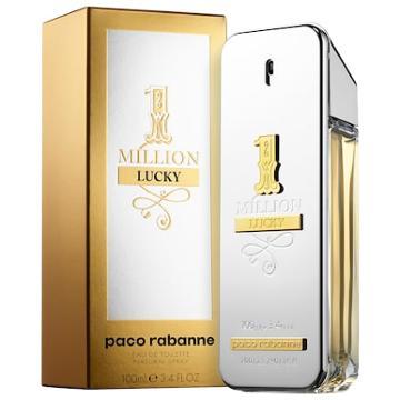 Paco Rabanne 1 Million Lucky 3.4 Oz/ 100 Ml Eau De Toilette Spray