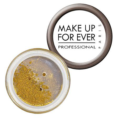 Make Up For Ever Metal Powder Olive Gold 4