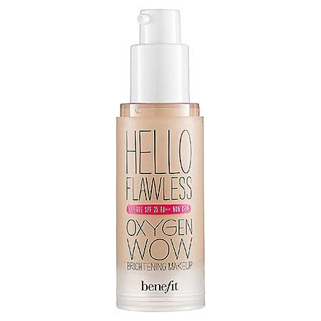 Benefit Cosmetics 'hello Flawless!' Oxygen Wow Liquid Foundation 'i'm So Money' Honey 1 Oz