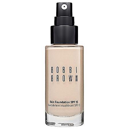 Bobbi Brown Skin Foundation Spf 15 Porcelain 0 1 Oz