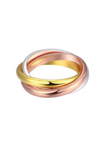 Shein Mixed Metal Smooth Ring