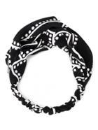 Shein Polka Dot Print Twist Headband