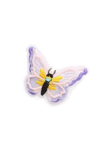 Shein Embroidery Butterfly Hair Clip