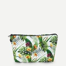 Shein Flora Print Makeup Bag