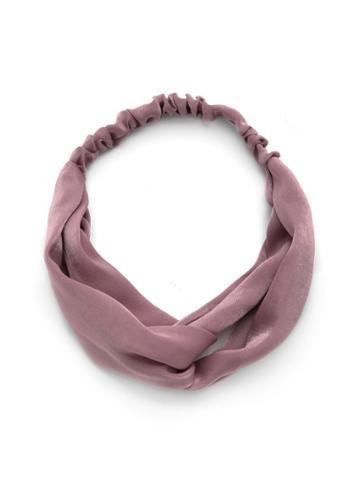 Shein Satin Twist Headband