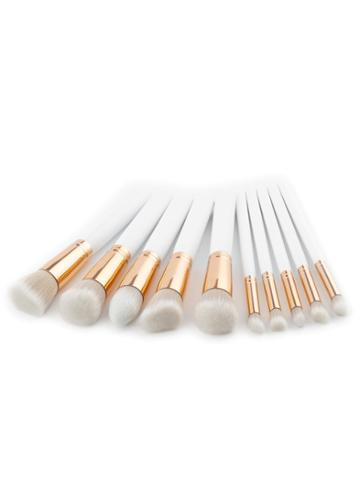Shein Soft Bristle Makeup Brush Set 10pcs