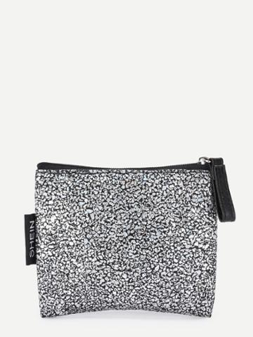 Shein Zipper Up Coin Purse