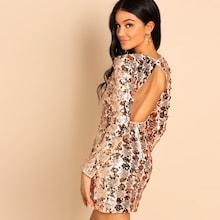 Shein Sequin Bodycon Dress