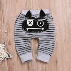 Shein Toddler Boys Cartoon & Stripe Print Pants