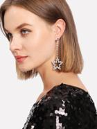 Shein Moon & Star Design Mismatch Earrings