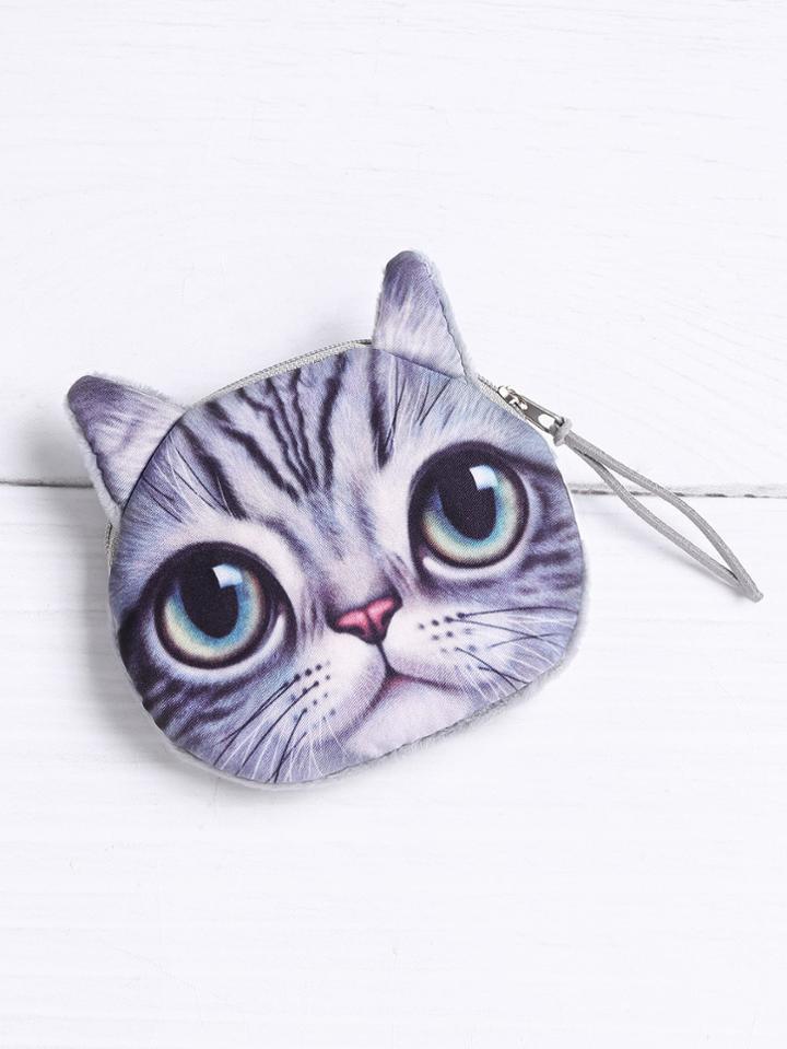 Shein Cat Shaped Coin Purse