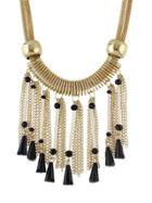 Shein Golden Chain Beads Chunky Necklaces