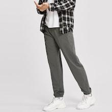 Shein Men Elastic Waist Slant Pocket Pants