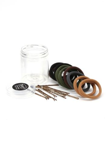 Shein Hair Tie & Hair Pin Set