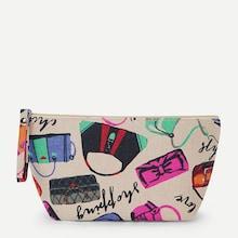 Shein Bag Print Makeup Bag