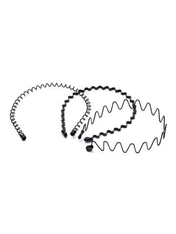 Shein Wave Shaped Headband 3pcs