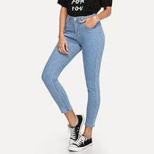 Shein Cropped Skinny Jeans