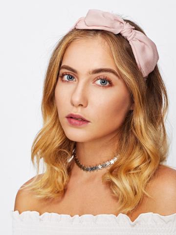 Shein Bow Tie Headband