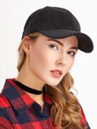 Shein Black Corduroy Warm Baseball Cap