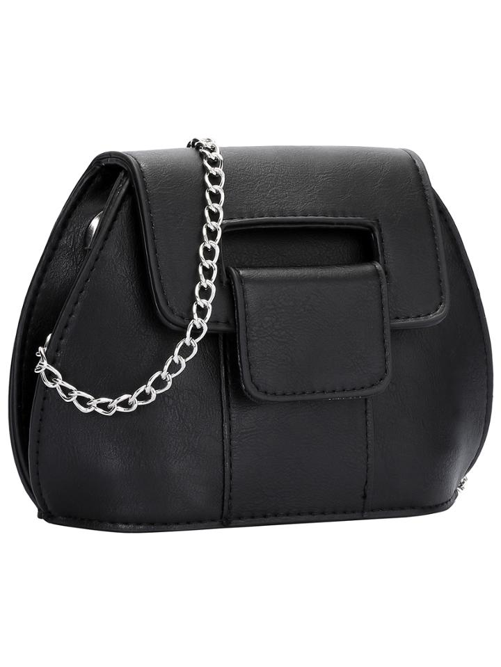 Shein Black Chain Pu Satchels