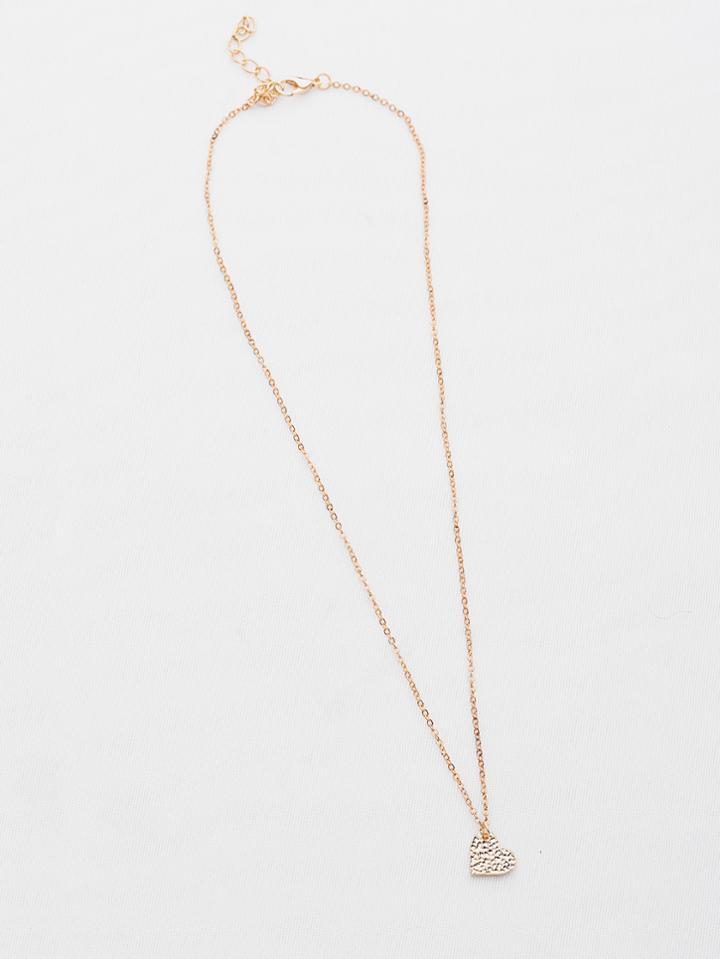 Shein Heart Pendant Necklace