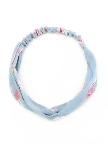 Shein Calico Print Twist Headband