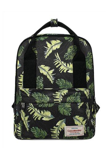 Shein Tropical Print Square Print Backpack