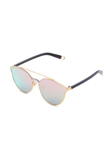 Shein Ombre Lens Top Bar Sunglasses