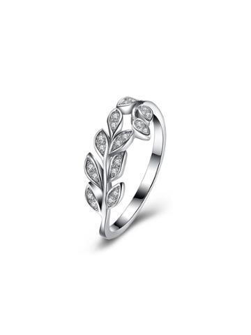 Shein Rhinestone Detail Olive Branch Ring