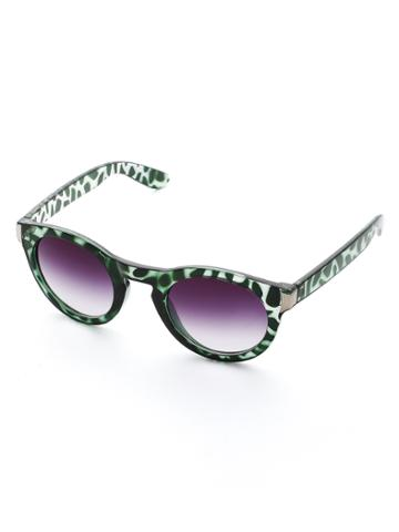 Shein Contrast Frame Ombre Lens Sunglasses
