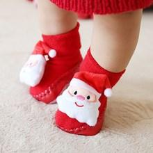 Shein Christmas Baby Santa Claus Decor Slippers