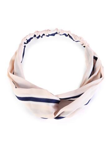 Shein Striped Print Twist Headband