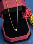 Shein Gold Hot Sale Short Geometric Pendant Necklace For Women